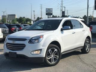 Used 2016 Chevrolet Equinox LTZ Navi|Sunroof|Loaded| for sale in Mississauga, ON