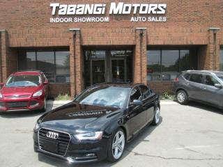 Used 2016 Audi A4 TECKNIK PLUS | NAVIGATION | LEATHER | SUNROOF | REARCAM | BT for sale in Mississauga, ON