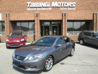 Used 2014 Honda Accord SPORT | NO ACCIDENTS | REAR CAM | HEATED SEATS | ALLOY RIMS for sale in Mississauga, ON