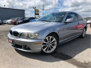 Used 2004 BMW 3 Series 330cI |Stick| Leather | Sunroof| Harman Kardon for sale in St Catharines, ON