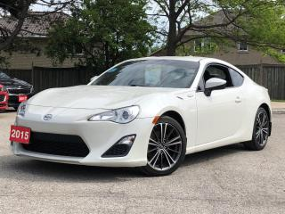 Used 2015 Scion FR-S RWD| B-Tooth| Low Kms | 6 speed | PWR Options for sale in Stoney Creek, ON