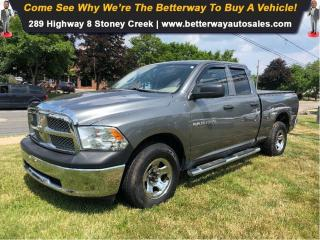 Used 2012 RAM 1500 ST| 4WD| Bed Liner| PWR Options| Quad Cab for sale in Stoney Creek, ON