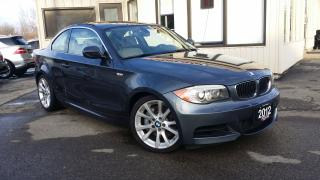 Used 2012 BMW 1 Series 135i Coupe 2012 BMW 1-Series 135i Coupe - LEATHER! SUNROOF! NAV! PARKING SENSORS! for sale in Kitchener, ON