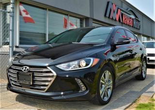 Used 2018 Hyundai Elantra  LIMITED SUNROOF COLLISION MITIGATION LDW APPLE CARPLAY  for sale in Brampton, ON
