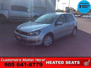 Used 2013 Volkswagen Golf 2.5 TRENDLINE for sale in St. Catharines, ON