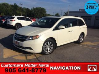 Used 2016 Honda Odyssey EX-L w/RES  NAV LEATH ROOF P/SLIDERS+GATE for sale in St. Catharines, ON