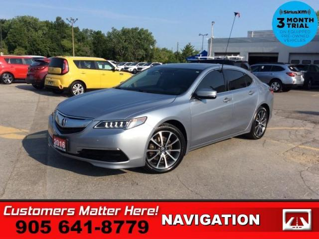 2016 Acura TLX Technology  V6 TECH-PKG NAV ROOF LEATH CAM