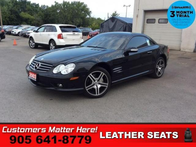 2003 Mercedes-Benz SL-Class SL500  TAN-LEATH P/SEATS HS