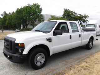 Used 2008 Ford F-250 SD XL Crew Cab Long Bed 2WD Diesel with Power Tailgate for sale in Burnaby, BC