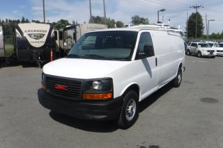 Used 2008 GMC Savana G2500 Extended Cargo Van with Bulkhead Divider and Ladder Rack for sale in Burnaby, BC