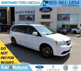 Used 2017 Dodge Grand Caravan SXT PREM. PLUS |NAV|LEATHER|REAR DVD|STOW N GO| for sale in Brantford, ON