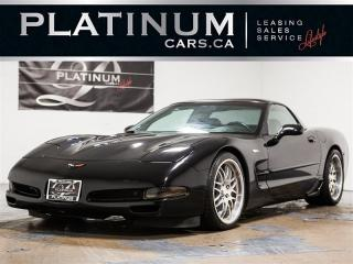 Used 2002 Chevrolet Corvette 6SP MAN, RED LTHR, Bose Sound for sale in Toronto, ON
