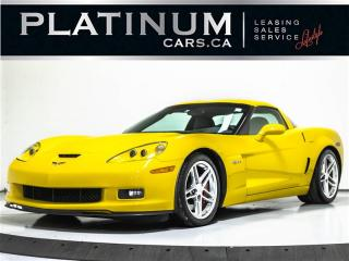 Used 2006 Chevrolet Corvette Z06, 2LZ, NAVI, HEATED LTHR, BOSE SOUND for sale in Toronto, ON