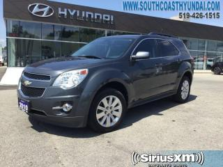 Used 2010 Chevrolet Equinox 2LT FWD 1SC  - Proximity Key - $113.80 B/W for sale in Simcoe, ON