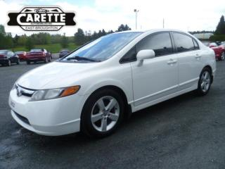 Used 2008 Honda Civic LX for sale in East broughton, QC