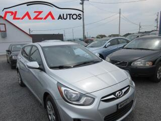 Used 2012 Hyundai Accent L for sale in Beauport, QC
