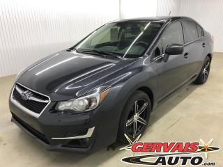 Used 2016 Subaru Impreza 2.0i Mags AWD Bluetooth A/C Caméra de recul for sale in Shawinigan, QC