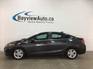 Used 2016 Chevrolet Cruze LT Auto - NEW BODY! AUTO! A/C! BLUETOOTH! ALLOYS! + MORE! for sale in Belleville, ON