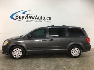Used 2015 Dodge Grand Caravan SE/SXT - ONLY 43,000KMS! A/C! CRUISE! PWR GROUP! for sale in Belleville, ON