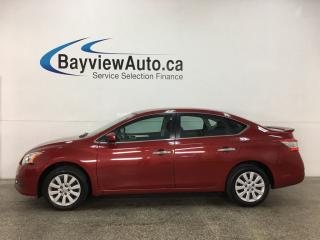Used 2014 Nissan Sentra 1.8 S - AUTO! A/C! CRUISE! PWR GROUP! for sale in Belleville, ON