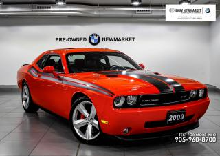 Used 2009 Dodge Challenger SRT8 Coupe -NO ACCIDENTS|KEYLESS ENTRY|NAV| for sale in Newmarket, ON