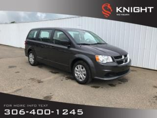 Used 2019 Dodge Grand Caravan Canada Value Package | Backup Camera | 3rd Row Seating for sale in Weyburn, SK