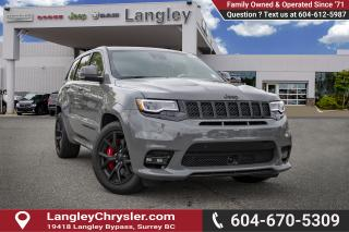 Used 2019 Jeep Grand Cherokee SRT - Leather Seats for sale in Surrey, BC