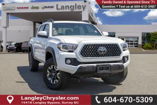Used 2018 Toyota Tacoma TRD Off Road - Heated Seats for sale in Surrey, BC