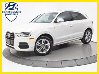 Used 2016 Audi Q3 Progressiv, Toit for sale in Brossard, QC