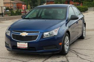 Used 2012 Chevrolet Cruze LS LOW KMs | ONLY 98K for sale in Waterloo, ON