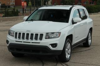 Used 2015 Jeep Compass Sport/North 4x4 | Leather | Sunroof | CERTIFIED for sale in Waterloo, ON