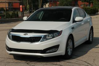 Used 2013 Kia Optima LX+ Panoramic Sunroof | Heated Seats | CERTIFIED for sale in Waterloo, ON
