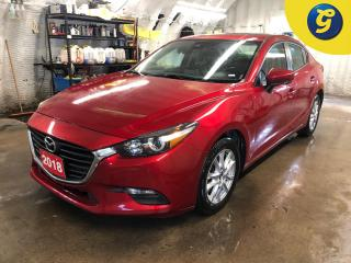 Used 2018 Mazda MAZDA3 Power sunroof * Lane keep assist * Blind spot assist * Electronic hand brake * Auto / manual mode * Economy/sport mode * Phone connect * Climate contr for sale in Cambridge, ON