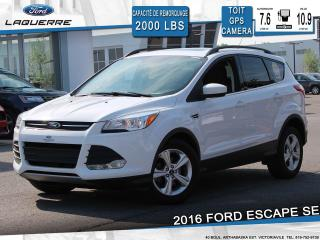 Used 2016 Ford Escape SE FWD**TOIT*GPS*CAMERA*BLUETOOTH*A/C** for sale in Victoriaville, QC