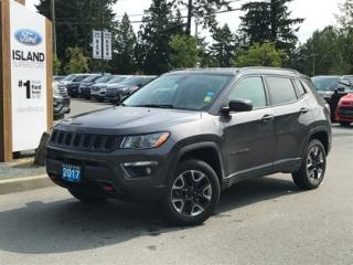 Used 2017 Jeep Compass Trailhawk, Backup Camera Nav for sale in Duncan, BC