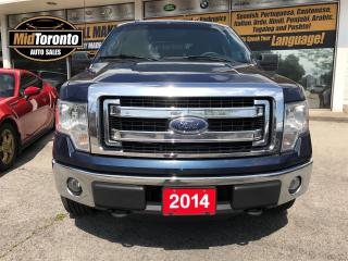 Used 2014 Ford F-150 SuperCrew | 4WD | V8 | No Accidents for sale in North York, ON
