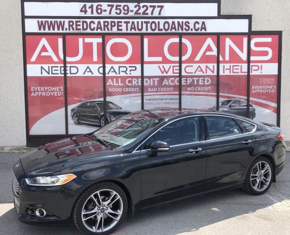 2015 Ford Fusion Titanium TITANIUM-ALL CREDIT ACCEPTED