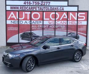 Used 2015 Acura TLX Tech SH-AWD-ALL CREDIT APPROVED for sale in Scarborough, ON