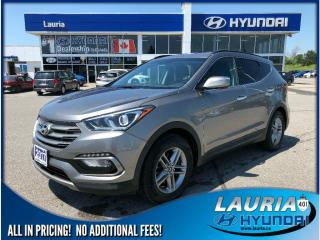 Used 2017 Hyundai Santa Fe Sport 2.4L FWD Premium - Backup camera / Bluetooth for sale in Port Hope, ON