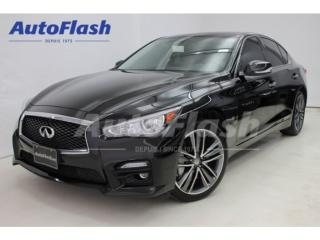 Used 2014 Infiniti Q50 AWD SPORT-Pkg *GPS/Camera * Paddle-Shift * 328 hp! for sale in St-Hubert, QC