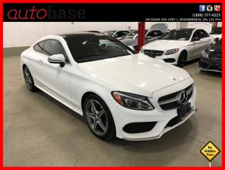 Used 2017 Mercedes-Benz C-Class C300 4MATIC COUPE PREMIUM PLUS BURMESTER SPORT for sale in Vaughan, ON