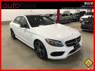Used 2016 Mercedes-Benz C-Class C450 AMG 4MATIC PREMIUM CLEAN CARFAX! for sale in Vaughan, ON
