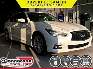 Used 2014 Infiniti Q50 PREMIUM***GARANTIE PROLONGÉE***INTÉRIEUR for sale in Donnacona, QC