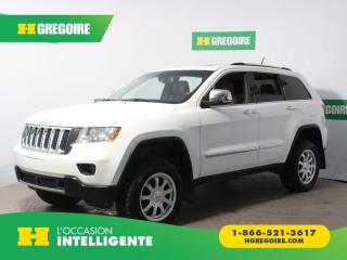 Used 2013 Jeep Grand Cherokee OVERLAND AWD A/C for sale in St-Léonard, QC