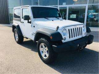 Used 2014 Jeep Wrangler Sport, Manual Transmission for sale in Ingersoll, ON