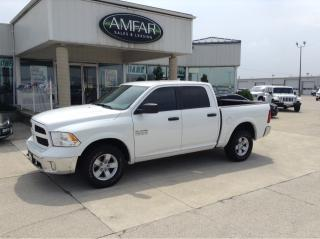 Used 2016 RAM 1500 Outdoorsman / 4X4 / CREW / NO PAYMENTS FOR 6 MONS for sale in Tilbury, ON