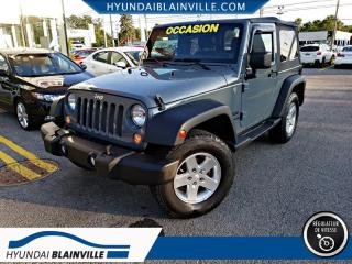 Used 2014 Jeep Wrangler SPORT AWD, MAGS for sale in Blainville, QC