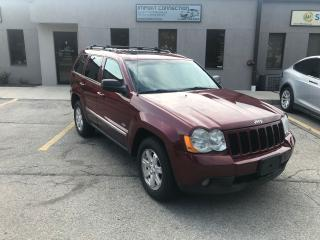Used 2008 Jeep Grand Cherokee 3.0L DIESEL,Laredo,LEATHER,SUNROOF,CERTIFIED! for sale in Burlington, ON