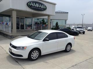 Used 2013 Volkswagen Jetta Trendline+ / AUTO / NO PAYMENTS FOR 6 MONTHS !! for sale in Tilbury, ON