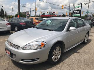 Used 2012 Chevrolet Impala LT l No Accidents l Remote Starter for sale in Waterloo, ON